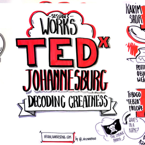 TED Johannesburg - WORKS