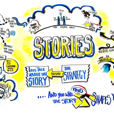 UNICEF storytelling workshop - with @Dancing__Fox