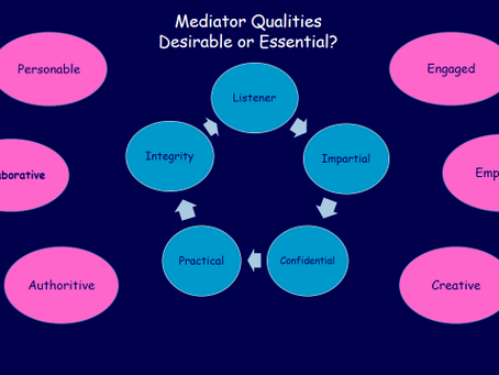 What to look for in a mediator