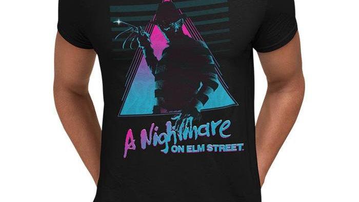 Nightmare On Elm Street Retro Tshirt