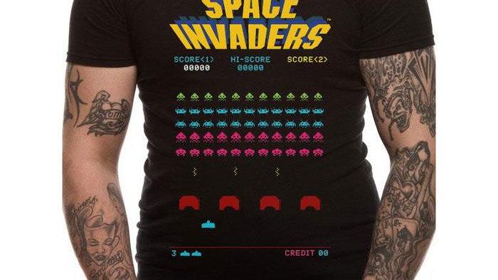 Space Invaders Arcade Tshirt