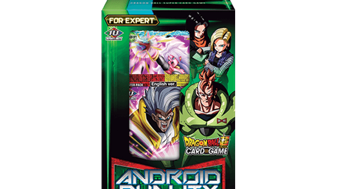 Dragon Ball TCG Android Duality Deck Box