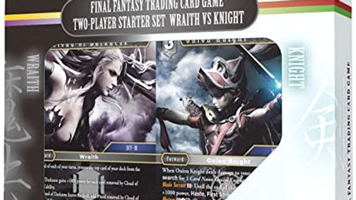 Final Fantasy TCG Two Player Starter Set Wraith VS Knight Deck