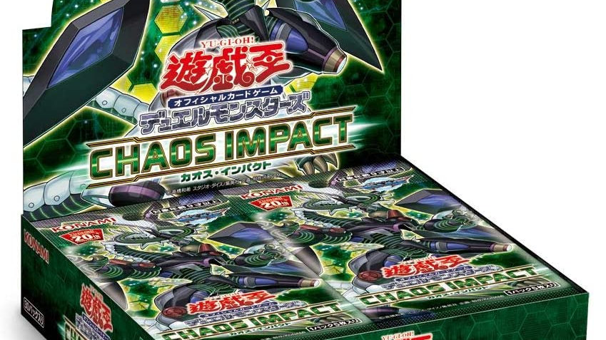 YuGiOh TCG Chaos Impact Booster Pack