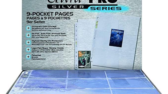 Ultra Pro 9-Pocket Page