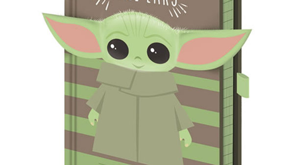 The Mandalorian Baby Yoda All Ears A5 Notebook