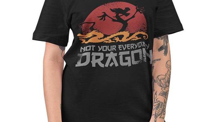 Mulan Not Your Everyday Dragon Tshirt