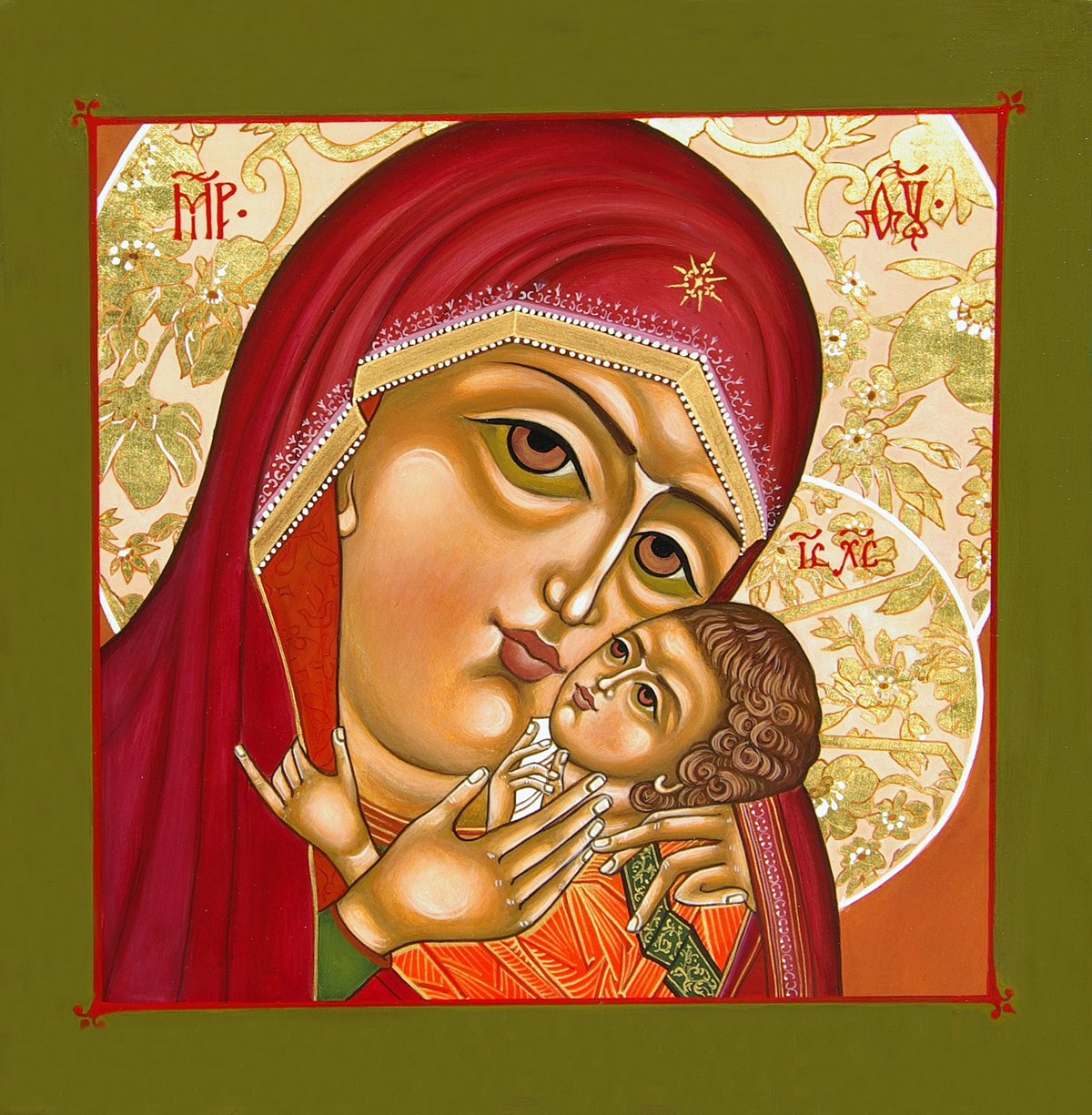 The Virgin of the Sweet Kiss
