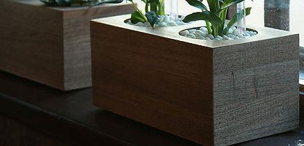 Кашпо cudo de madera