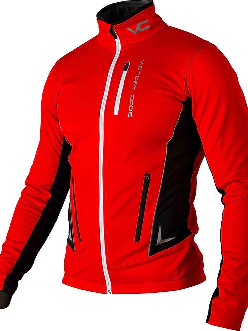 Куртка Speed Up, унисекс, красный