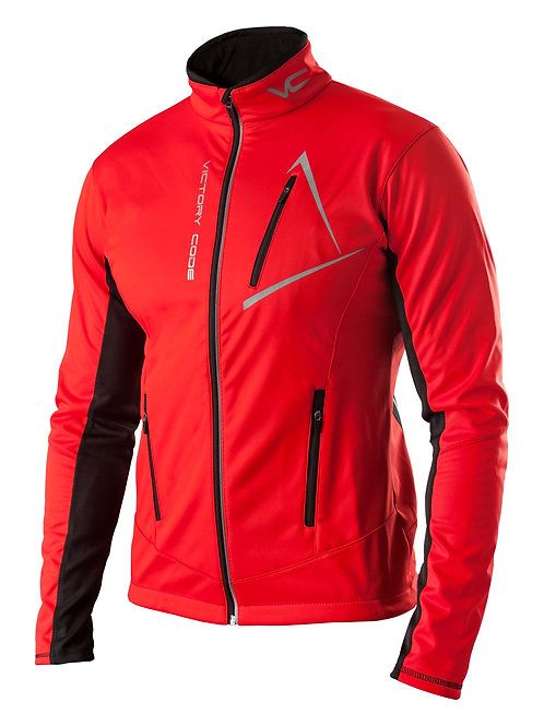 Куртка Dynamic, унисекс, красный
