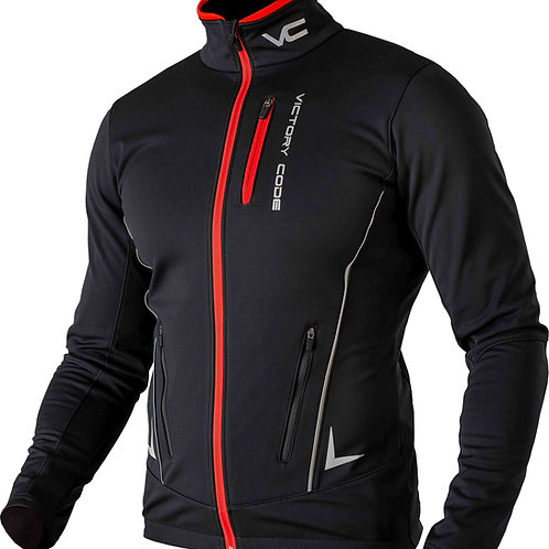 Куртка Speed Up, унисекс, черный