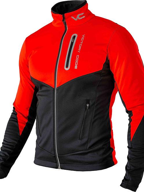 Куртка Go Fast, унисекс, красный