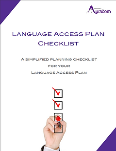 Language Access Plan Checklist