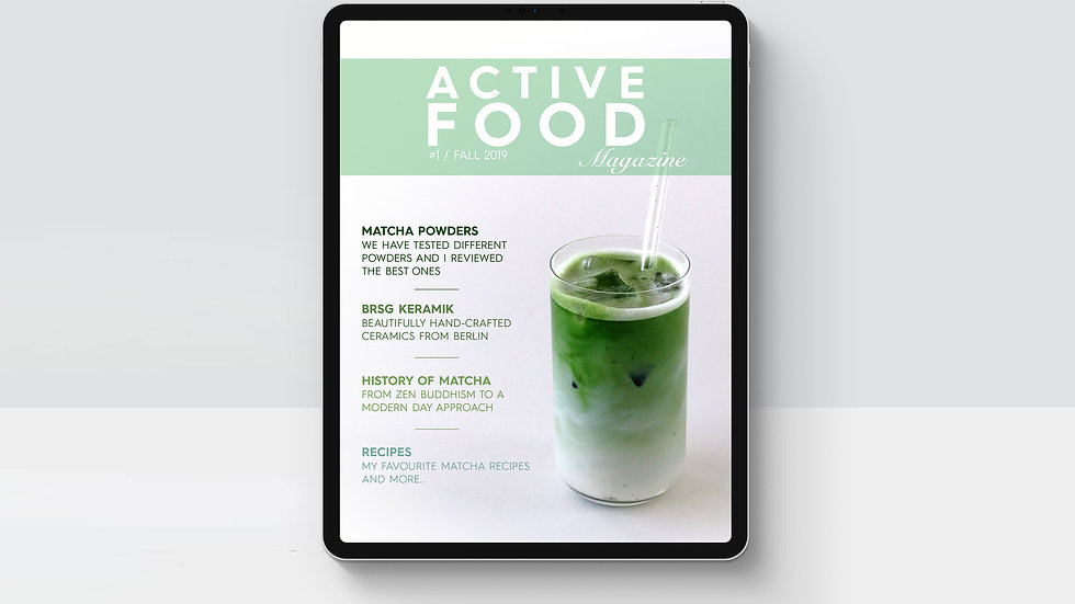 Active Food emag Fall 2019 by Lisa Mueller