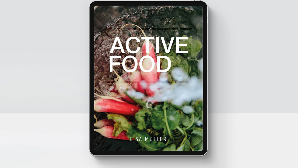 Active Food ebook by Lisa Mueller cover