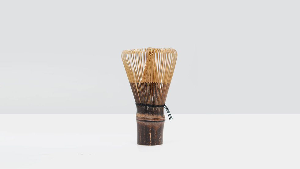 Purple Bamboo Whisk (Chasen)