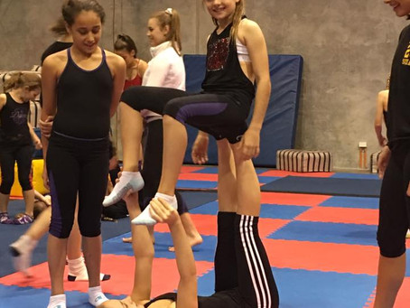 Thinking of Circus Classes for your Daughter or Son? Here's what happens in our Term classes at