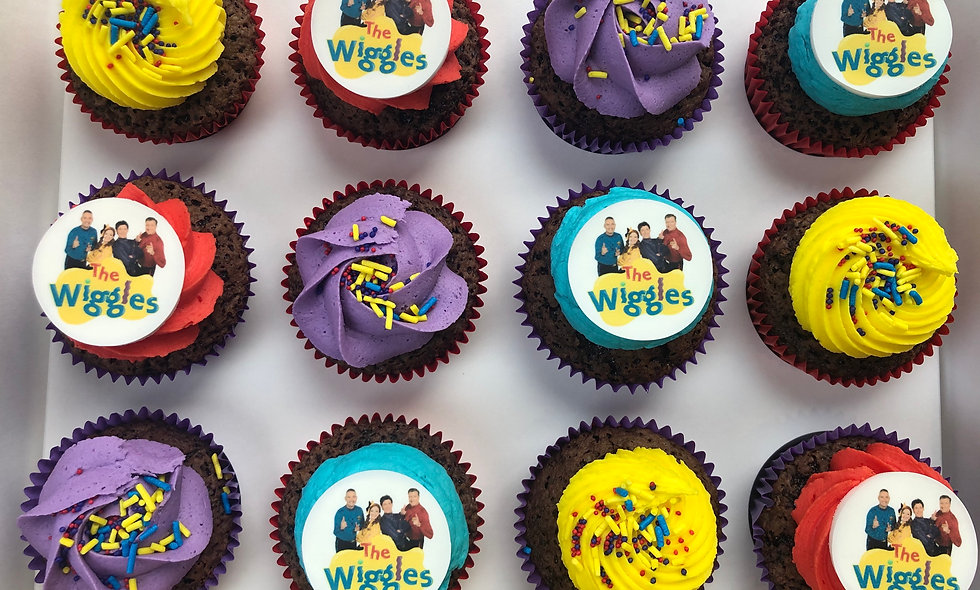 Wiggles Cupcakes