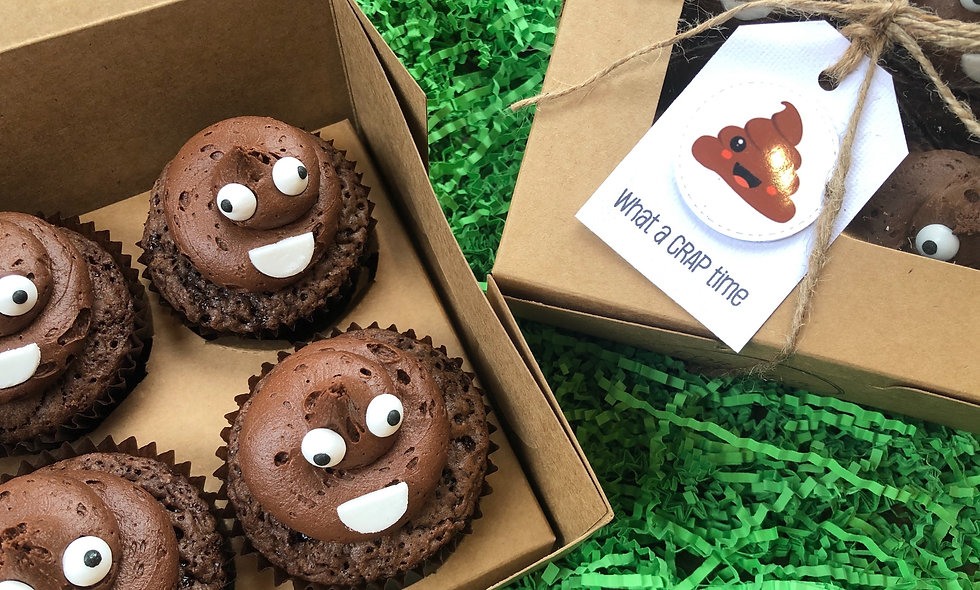 'What a Crap Time' Boxed Cupcakes