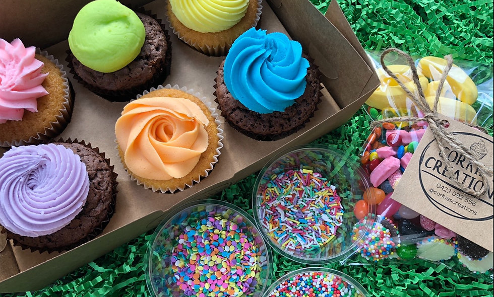 Decorate your Own Cupcake at Home