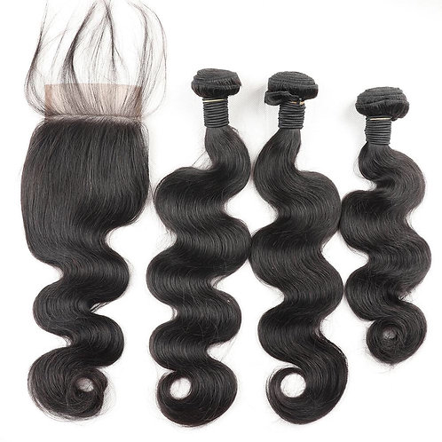 Body Wave Free Closure Deal