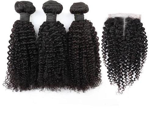 Brazilosn Curly with closure