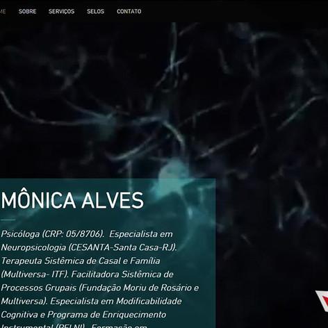 Site Profissional Mônica Alves