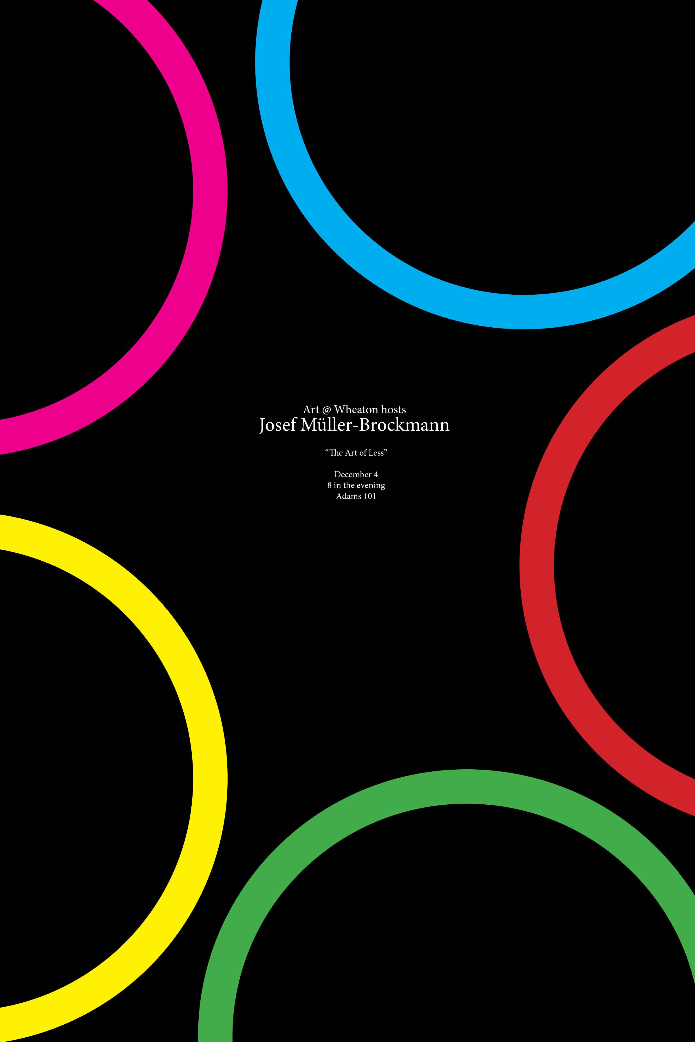 Josef Muller-Brockmann Poster