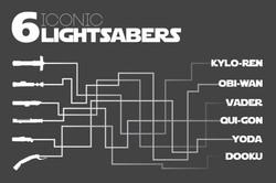 Lightsaber Story Arc Poster