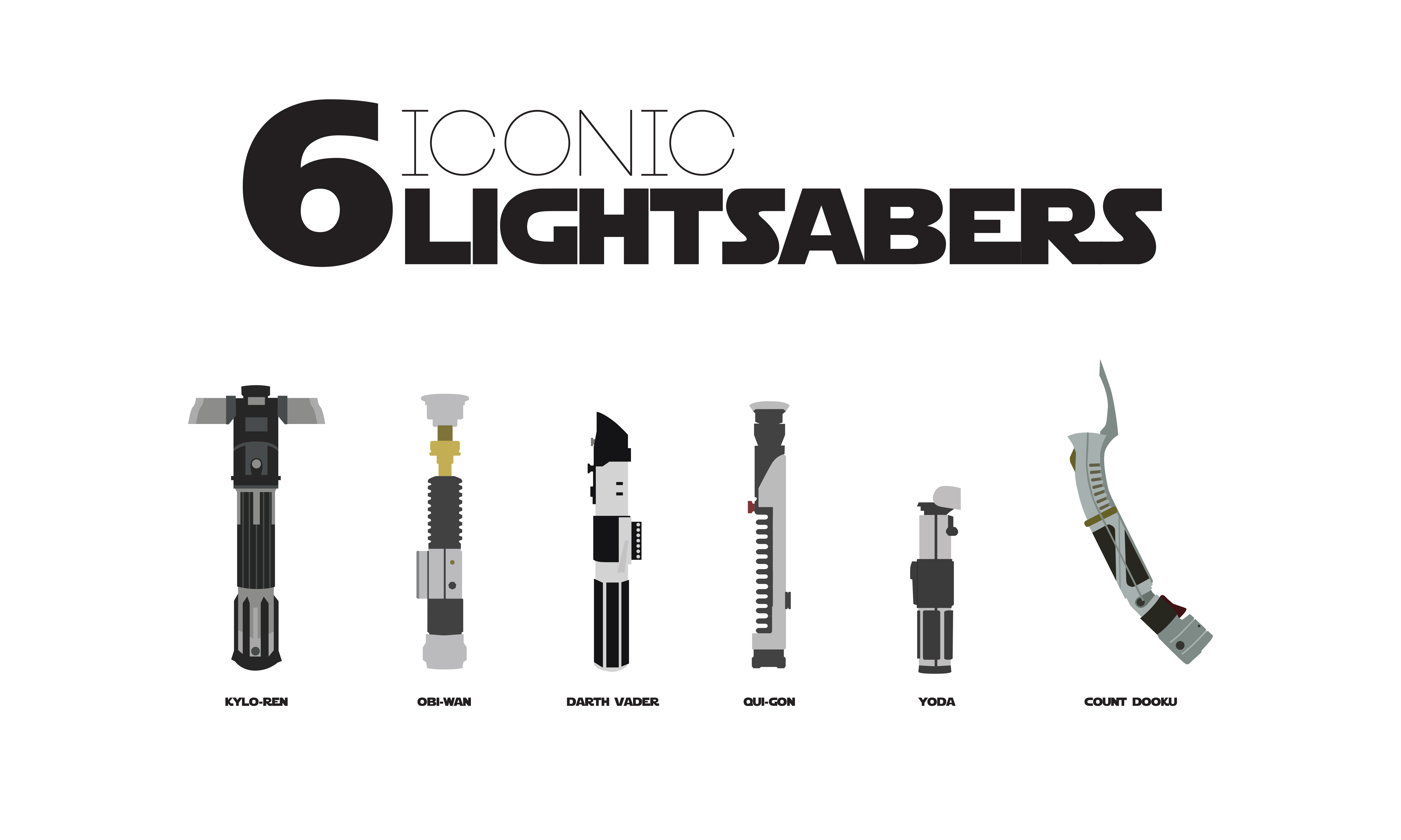 Lightsaber Icon Set
