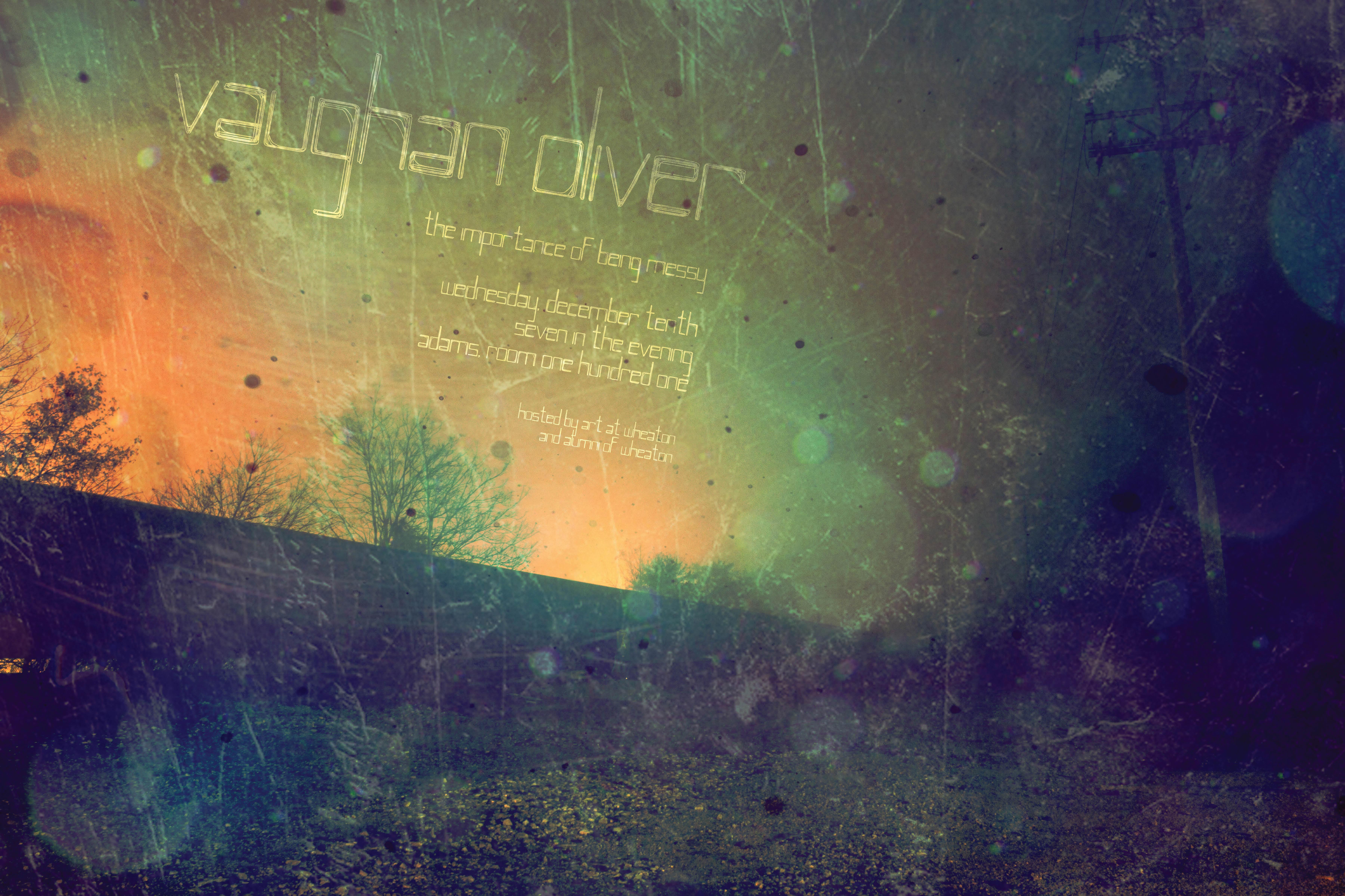 Vaughan Oliver Poster
