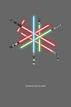 Lightsaber Poster
