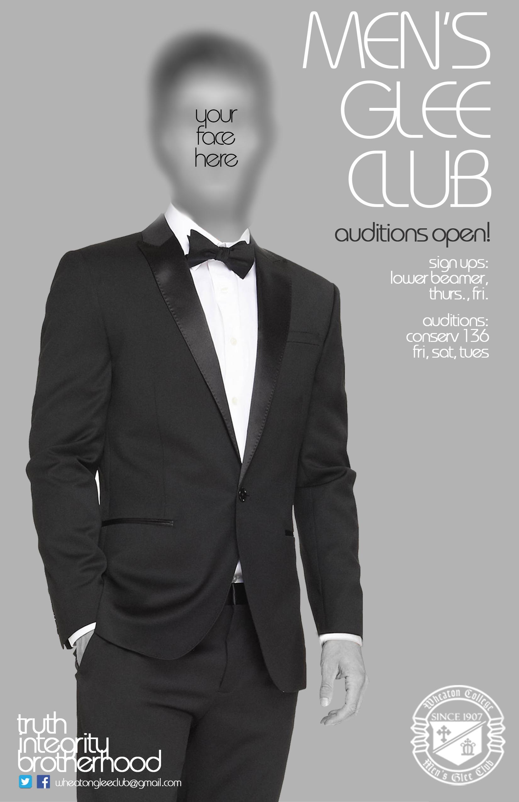 Men's Glee Club Poster