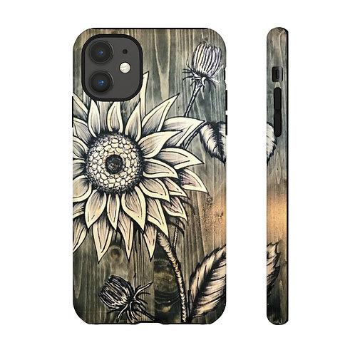Sunflower Stem Tough Case