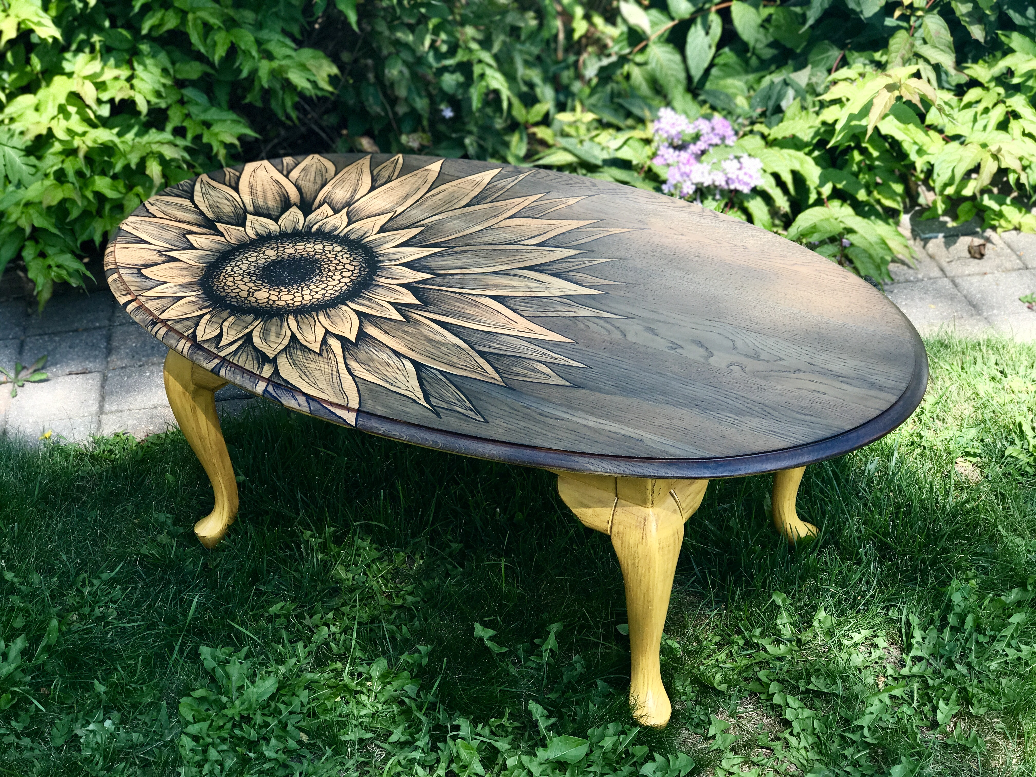 Sunflower Coffee Table