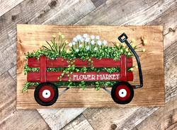 Flower Market Wagon
