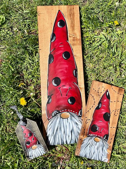 Ladybug Gnomes