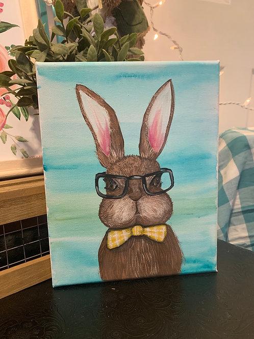 Small rabbit painting