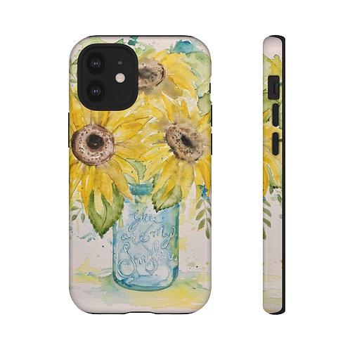 Watercolor Sunflower Case
