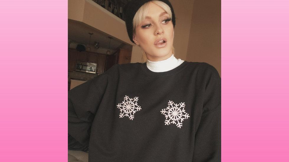 Snowflake Boobies Design