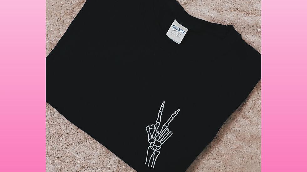 Skeleton Peace Design