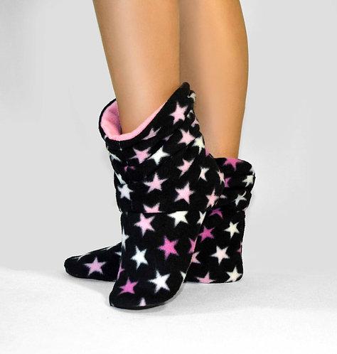 "Домашние тапочки tf 08 ""Stars Black"""