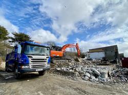 Demolition Hayle Harbour