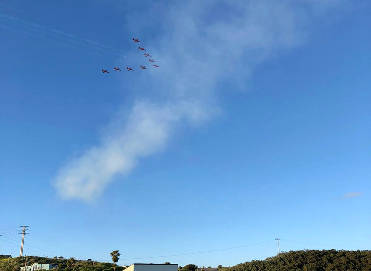 G7 Red Arrows Display