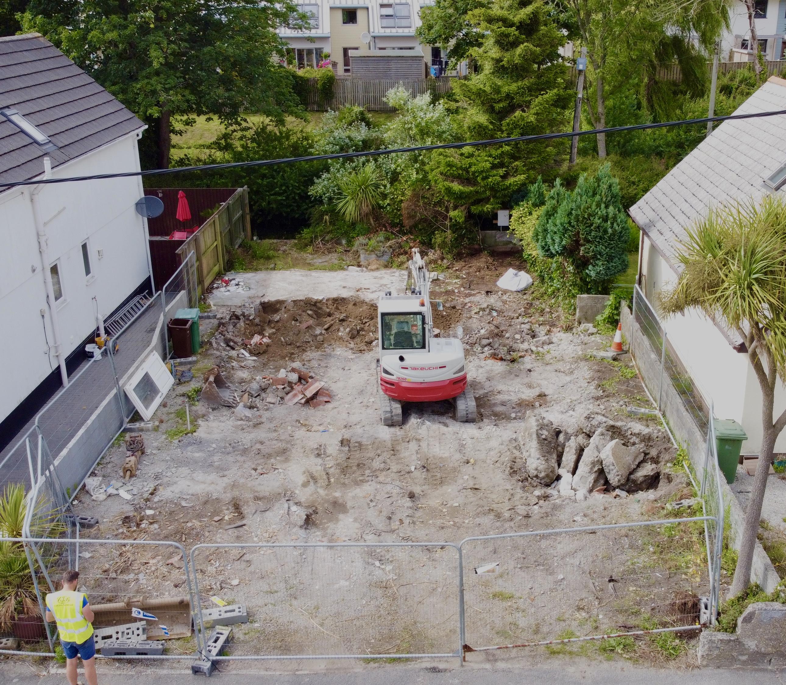 Hayle Demolition 3 Days in