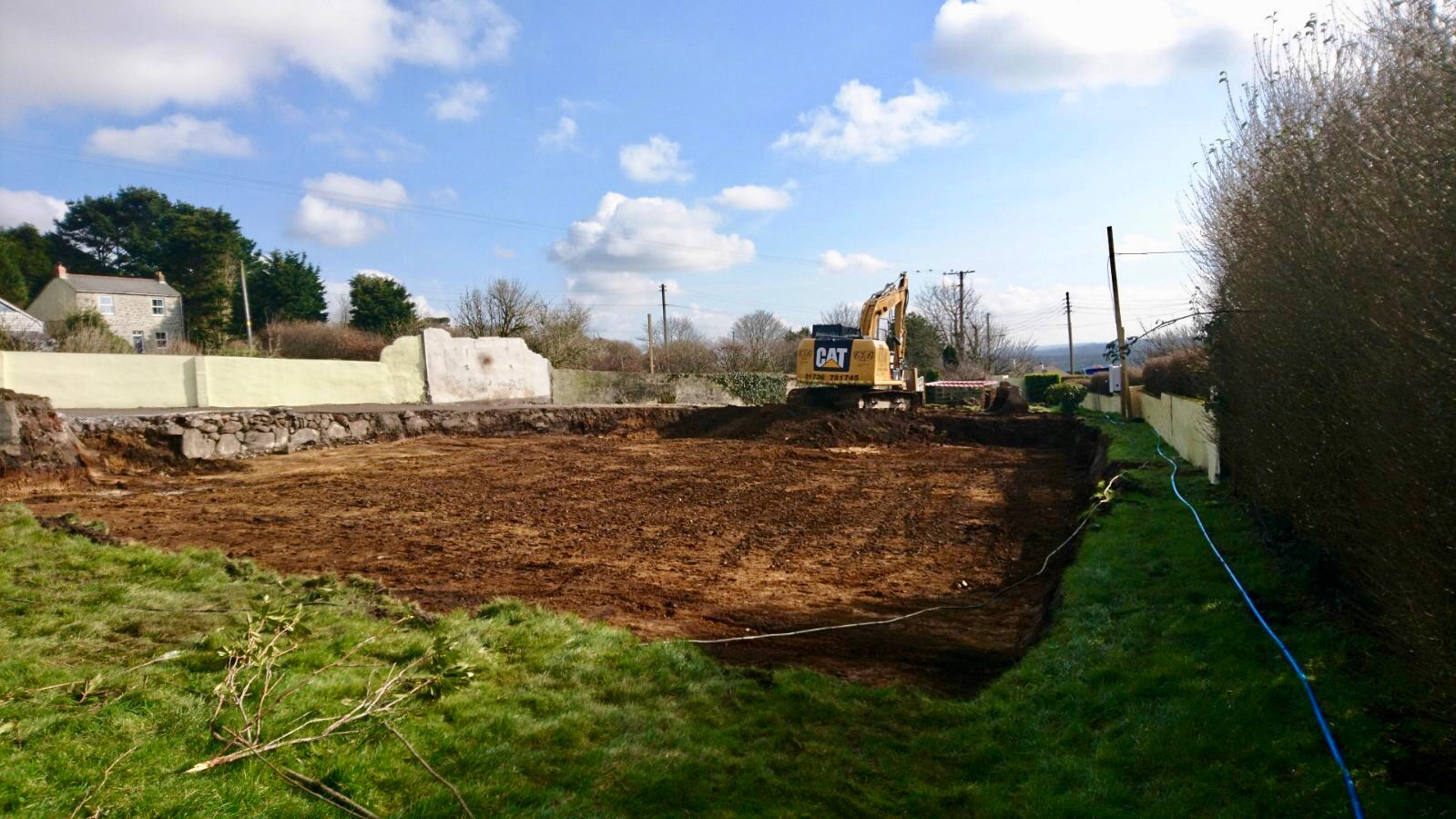 Lanner site Cleared