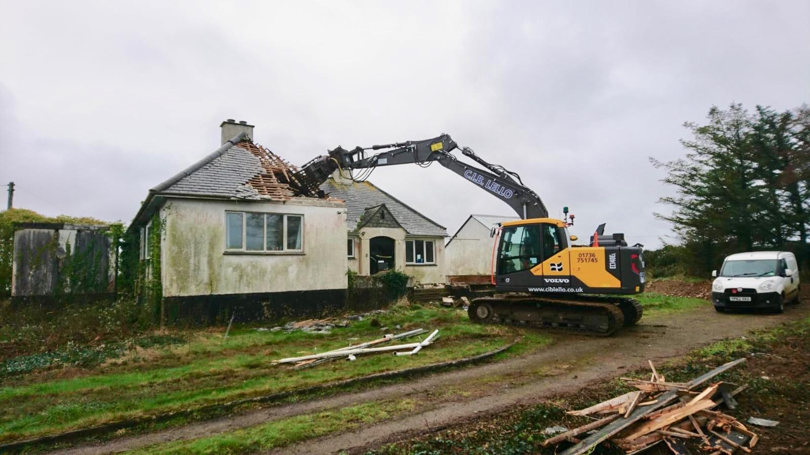 Gwithian Demolition