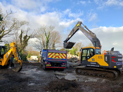Redruth Site clearance