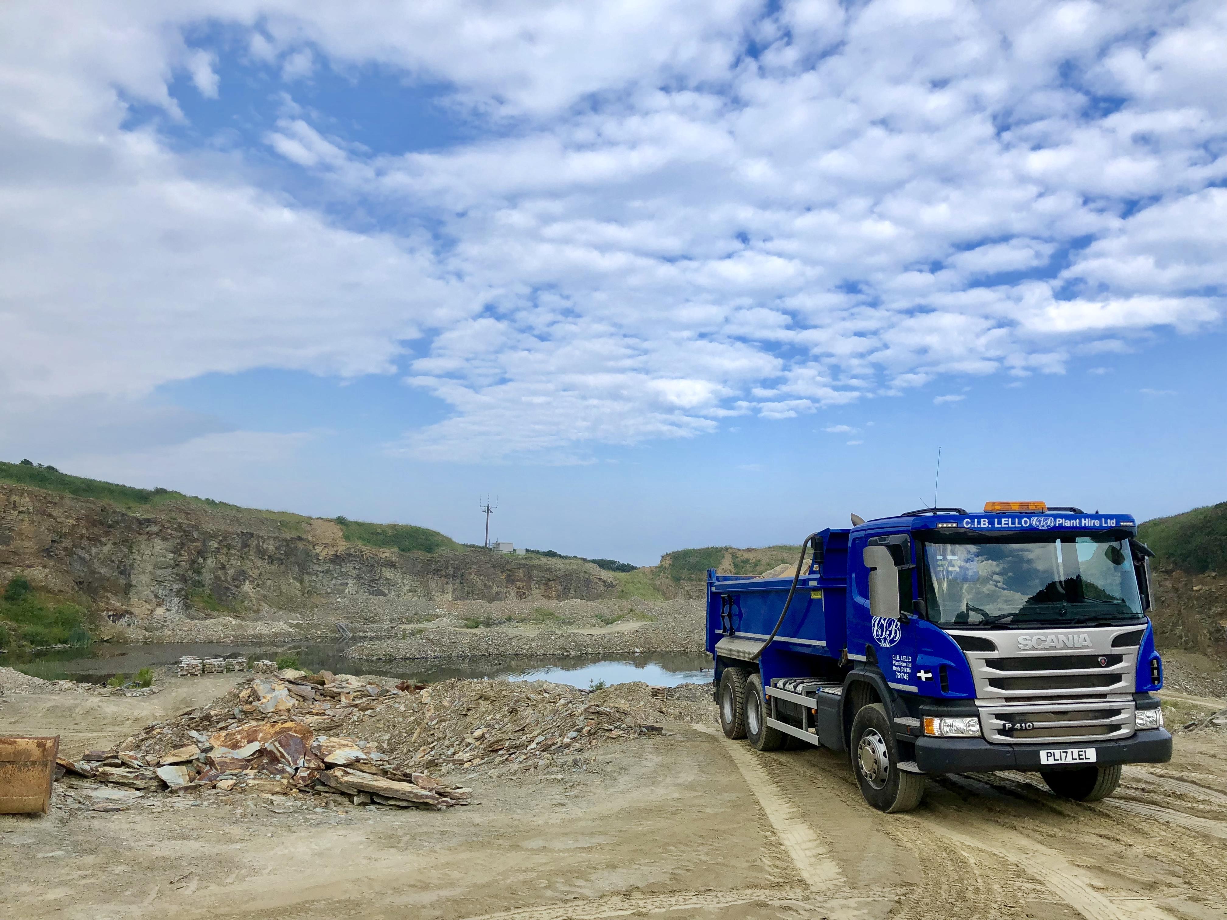 Trecarne Quarry Delabole